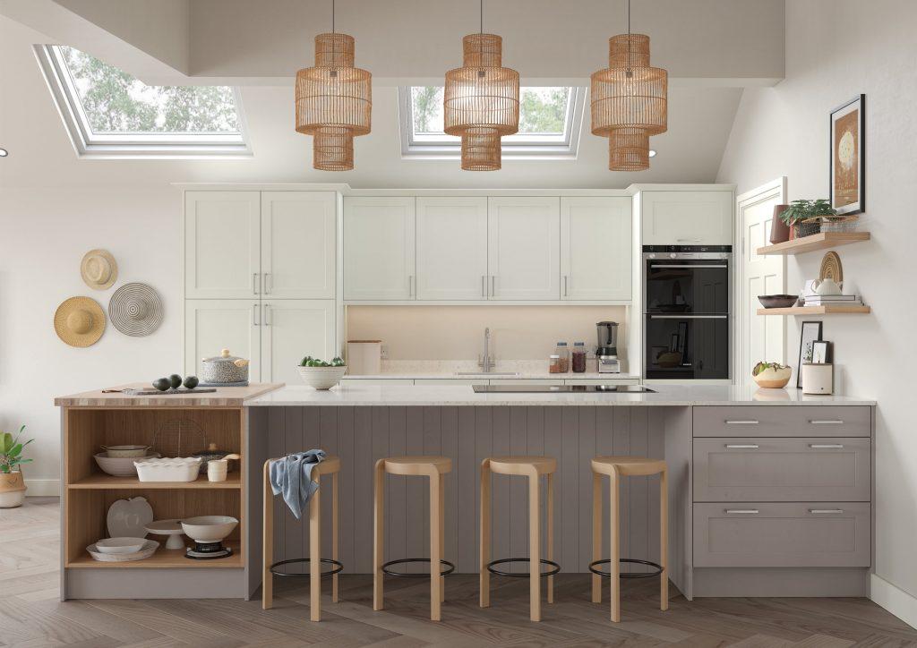 Aldana Porcelain Kitchen Design | Oxted Kitchens
