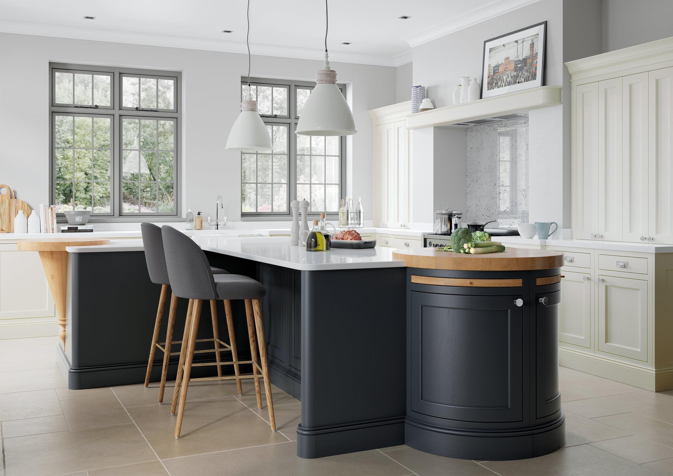 Belgravia Porcelain Kitchen Design | Oxted Kitchens